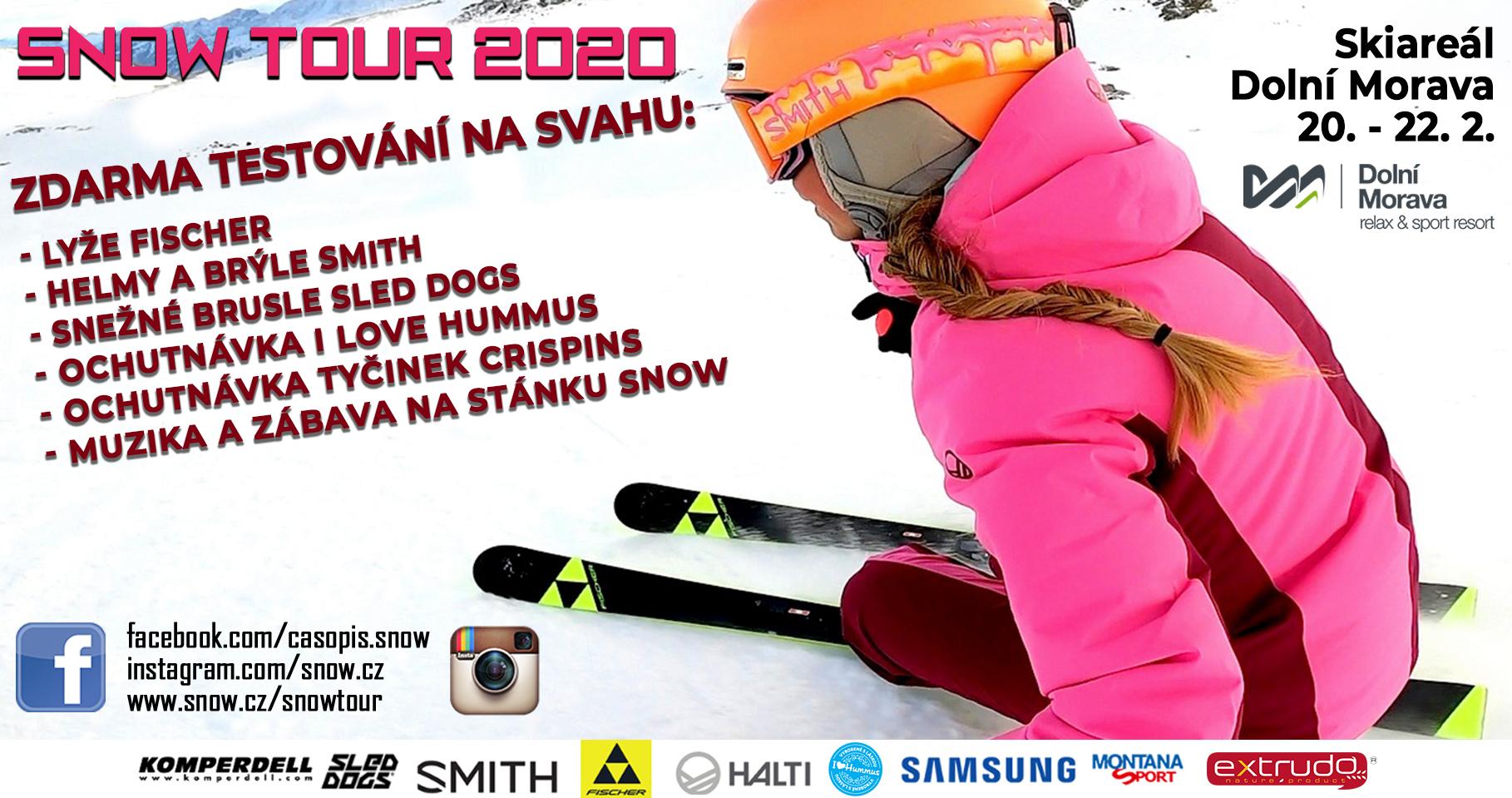 Snow Tour 2020 Dolní Morava