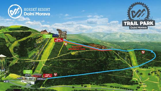 Trail park mapa